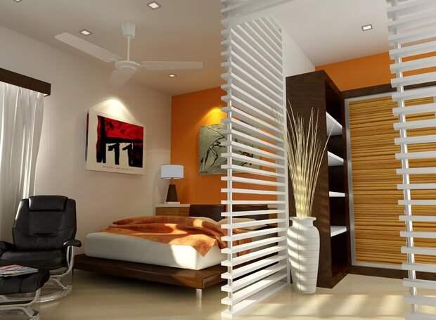 Дизайн маленькой спальни: как правильно выбрать (37 фото)