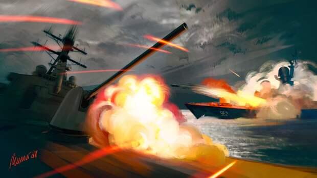 NI спрогнозировало исход возможного столкновения РФ и США в Черном море