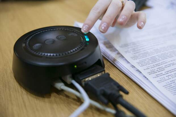 Устройство для глухонемых / Фото предоставлено коворкинг-центром НКО