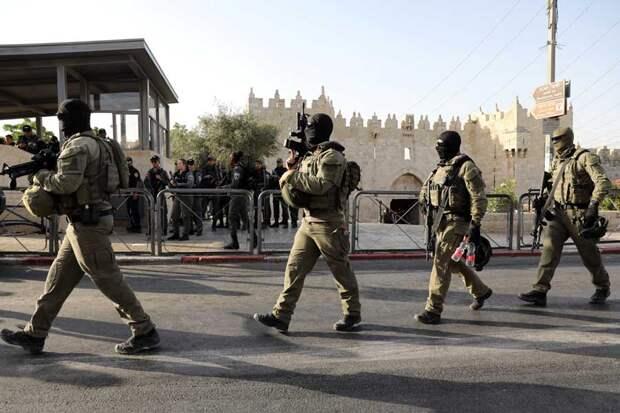 В Иерусалиме полиция пресекла очередные арабские беспорядки у Шхемских ворот