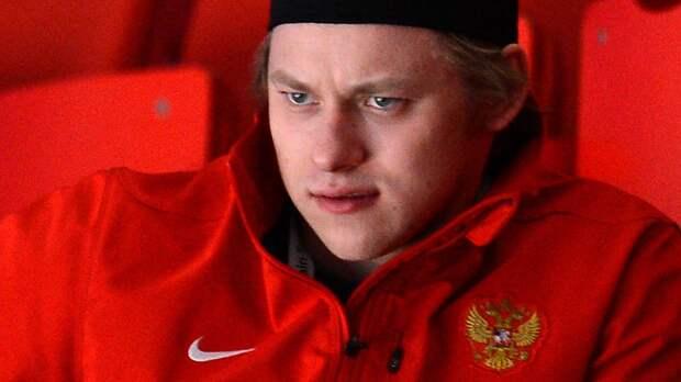 Тарасенко прибыл в Ригу для выступления за сборную России на ЧМ