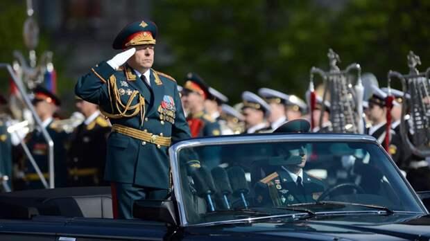 Главком Сухопутными войсками прокомментировал парад Победы на Красной площади