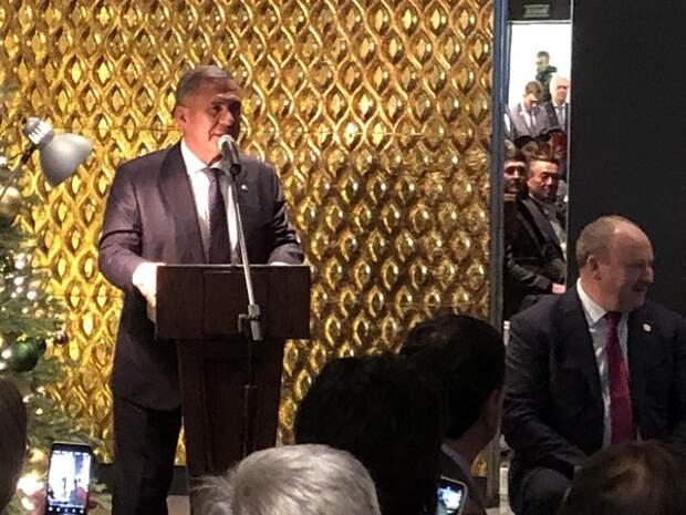 Президент Татарстана пообщался с московскими журналистами