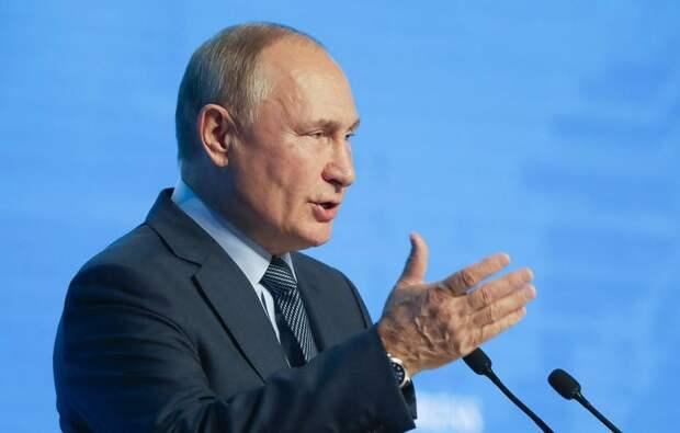 Путин сказал, что пока не решил, будет ли баллотироваться на пост президента в 2024 году