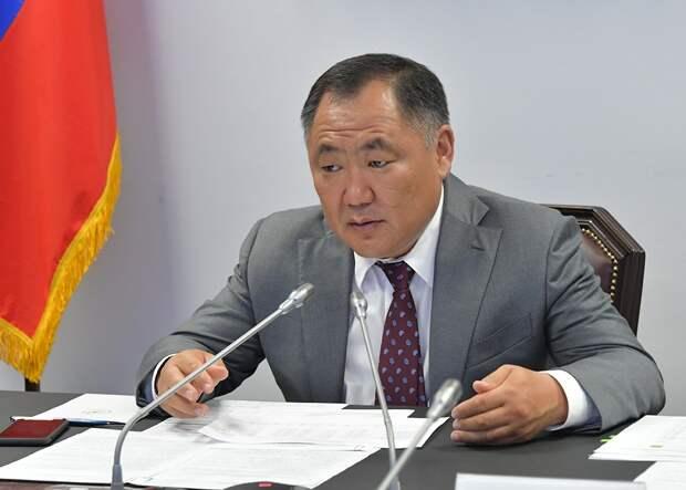У главы Республики Тува повторно выявили коронавирус