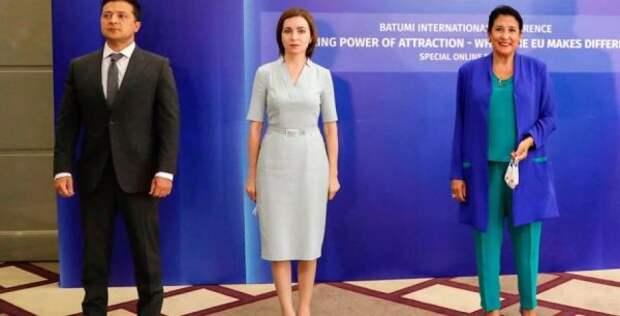 Украина, Грузия иМолдавия решили вступить вЕС, недожидаясь приглашения