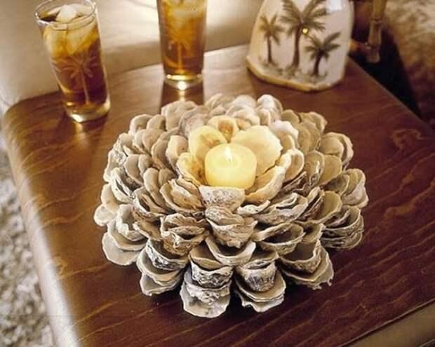 Из раковин моллюсков (подборка)