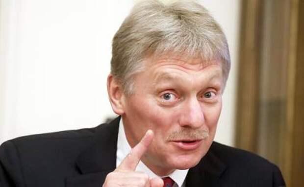 На фото: пресс-секретарь президента РФ Дмитрий Песков