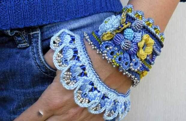 как сделать красивый браслет