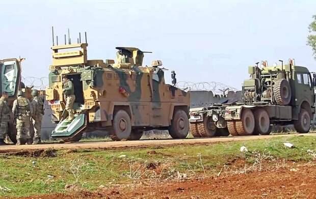 Турки атаковали сирийскую армию в ответ на удары ВКС России