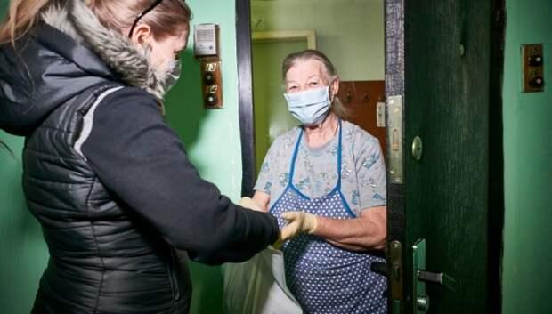 Воробьев поблагодарил подмосковных волонтеров за помощь жителям