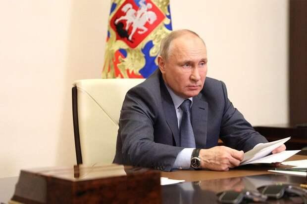 Путин заявил о превращении Украины в «антироссию»