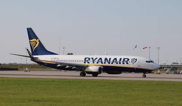 Ryanair заявила о давлении в Минске на пилотов самолета с Романом Протасевичем