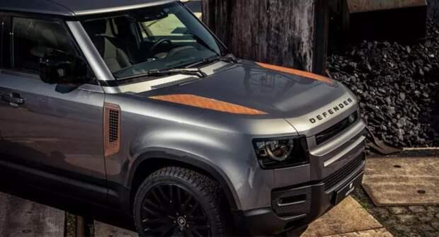 Для новой модели Land Rover Defender выпустили набор ржавых деталей