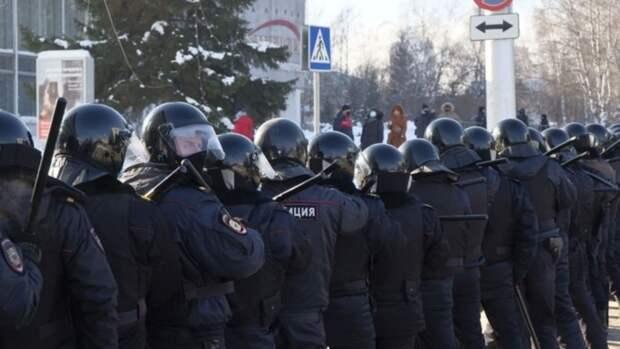 Центр Барнаула могут перекрыть для проезда из-за возможного проведения незаконных митингов