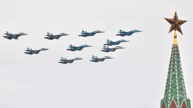 Воздушной части парада Победы не помешают погодные условия