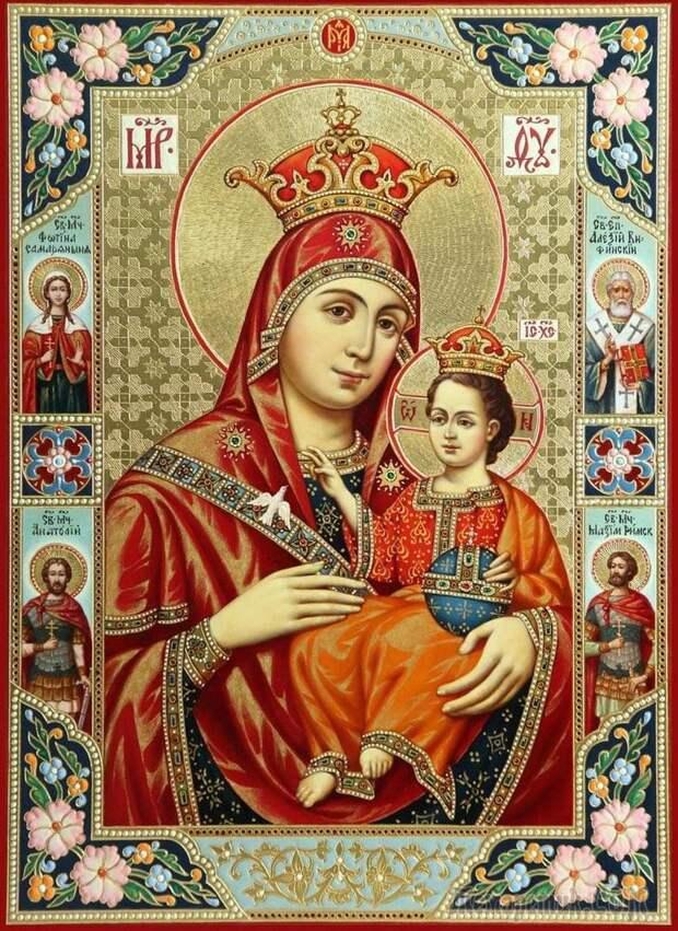 Икона Вифлеемской Божьей Матери