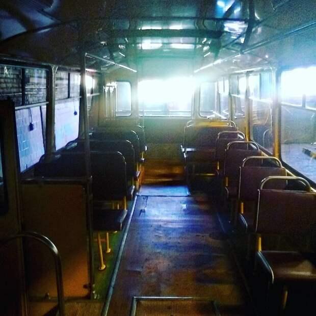 А помните этот салон? автобусы, воспоминания, детство, ностальгия