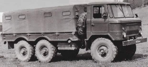ГАЗ-34 6Х6 1964 г. с двигателем v8.