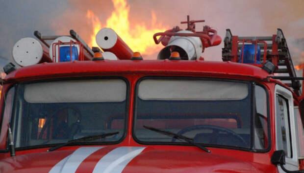 Пожар произошел в Петрозаводске сегодня утром