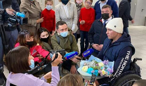 Параальпинист Рустам Набиев вернулся вУфу после восхождения нагору-«восьмитысячник»