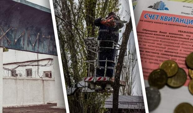 Новый завод, дороги и взносы за капремонт: главные проекты субботы в Волгограде