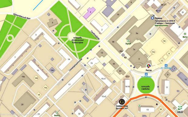 В Рязани на участке улицы Грибоедова запретят парковку транспорта