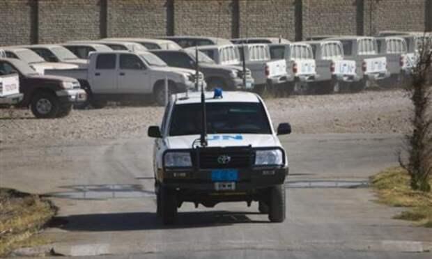 Под Кабулом было совершено нападение наколонну ООН, пятеро погибших