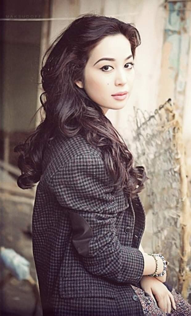 Асаль Шодиева - узбекская актриса. фото