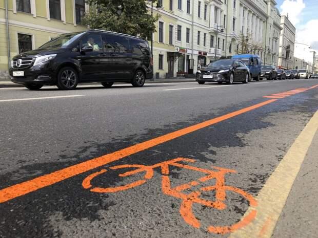 Велодорожки свяжут два округа Москвы