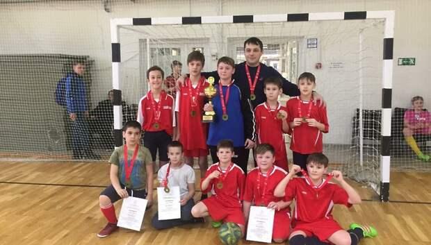 Школьники Подольска победили в зональном этапе соревнований по мини‑футболу