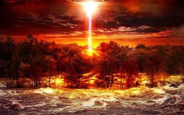 НЛО аномальной зоны Уркан