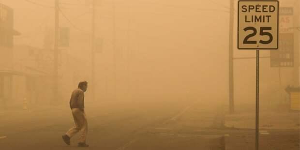 «Это чертова климатическая катастрофа». Губернатор Калифорнии назвал причину масштабных пожаров на Западном побережье США