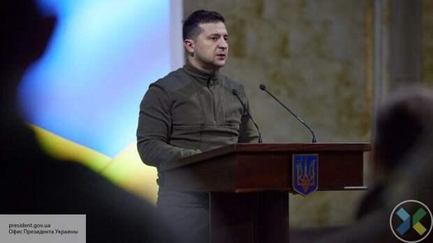 Зеленский заявил, что эскалацией на востоке Украины Россия тестирует Запад