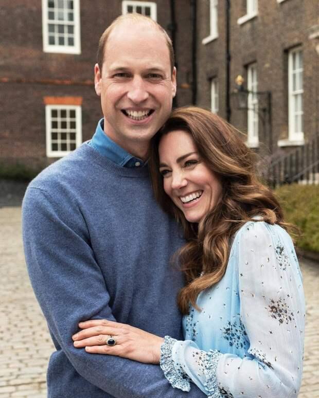 Новая фотосессия и подарок принца: Кейт Миддлтон и Уильям отметили 10 лет брака