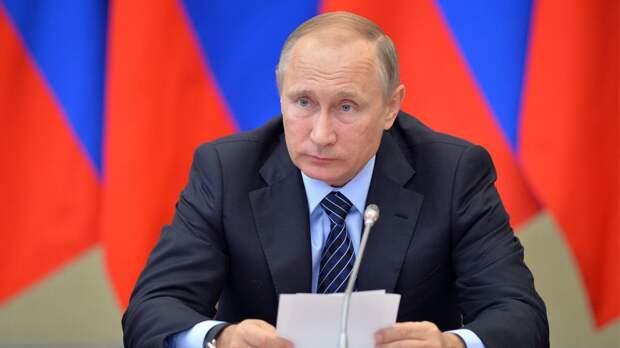 Путин прокомментировал несанкционированные акции протеста