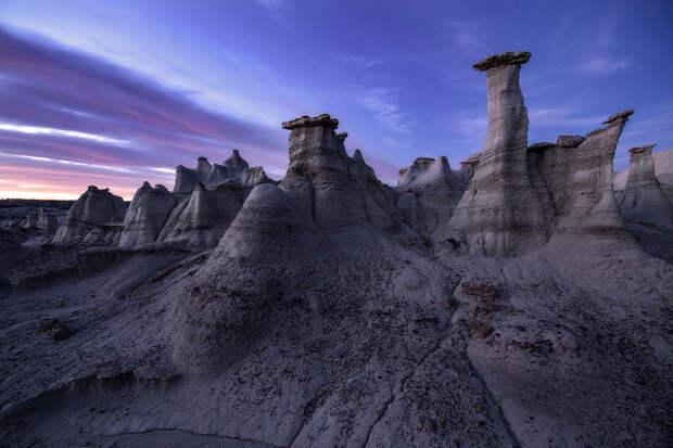 Пустошь Бисти: едем за инопланетными пейзажами