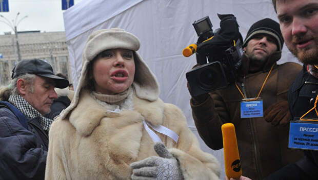 Журналист Божена Рынска. Архивное фото