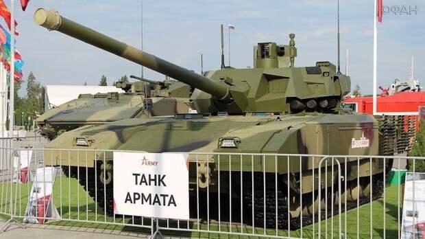NI сравнил живучесть T-14 «Армата» и М1 Abrams