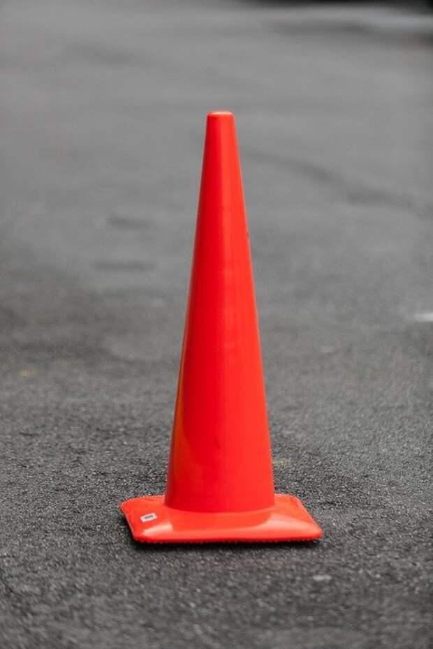 На 93-м километре МКАД произошла крупная авария