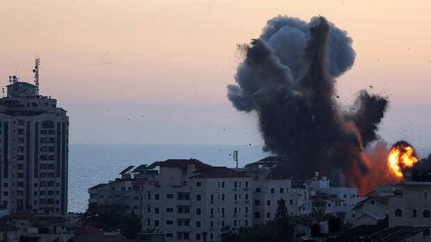 Израиль нанёс удар по объекту военной разведки ХАМАС