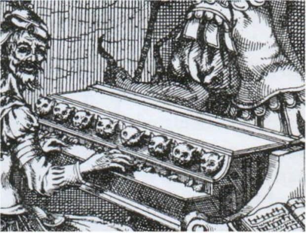 Клавесин боли — жестокий музыкальный инструмент прошлого