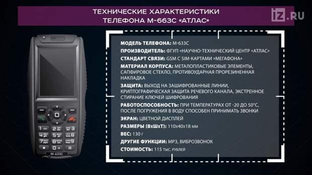 Чем «кирпич» от Минобороны России лучше айфона?