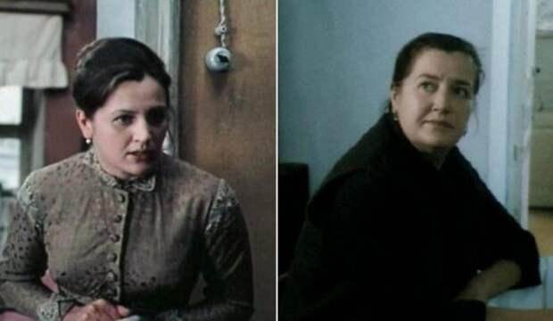 Татьяна Распутина в фильмах *Хождение по мукам*, 1974, и *Зима в раю*, 1989 | Фото: retrospectra.ru