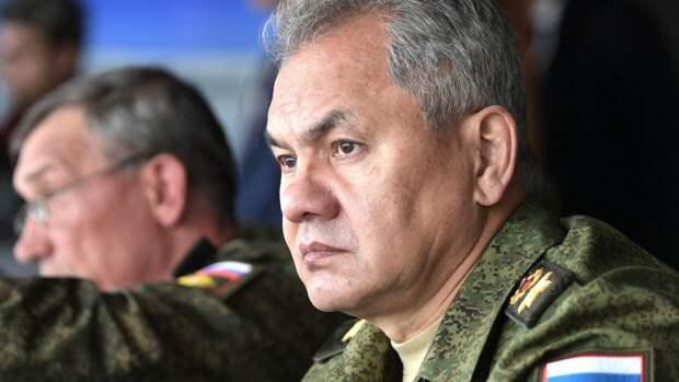 Шойгу: Россия создаст до 20 новых военных соединений у западных границ