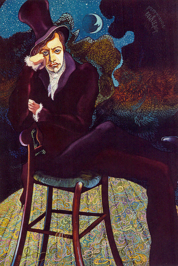 Андрей Миронов. Рисунок Юрия Богатырева.