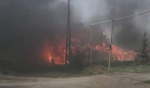 Пожар оставил без жилья свердловскую семью сребенком-инвалидом