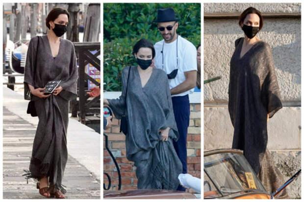 Как в фильме «Турист»: Анджелина Джоли путешествует...