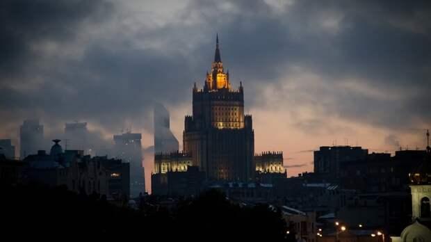 МИД России сделал предупреждение после инцидента с британским эсминцем