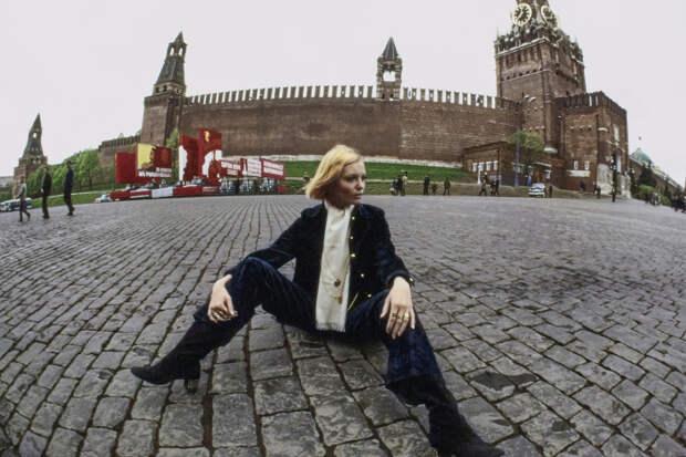 Та самая скандальная фотосессия Галины Миловской